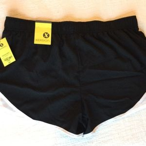 Xersion running shorts with liner